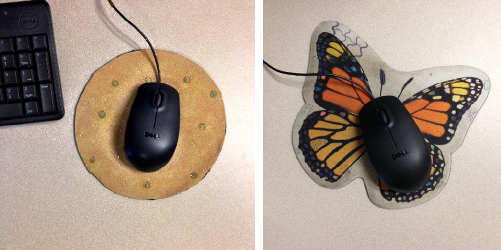 No more cat lady mouse pad!